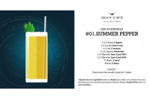 Cocktail Armagnac du week-end : #01 le Summer Pepper
