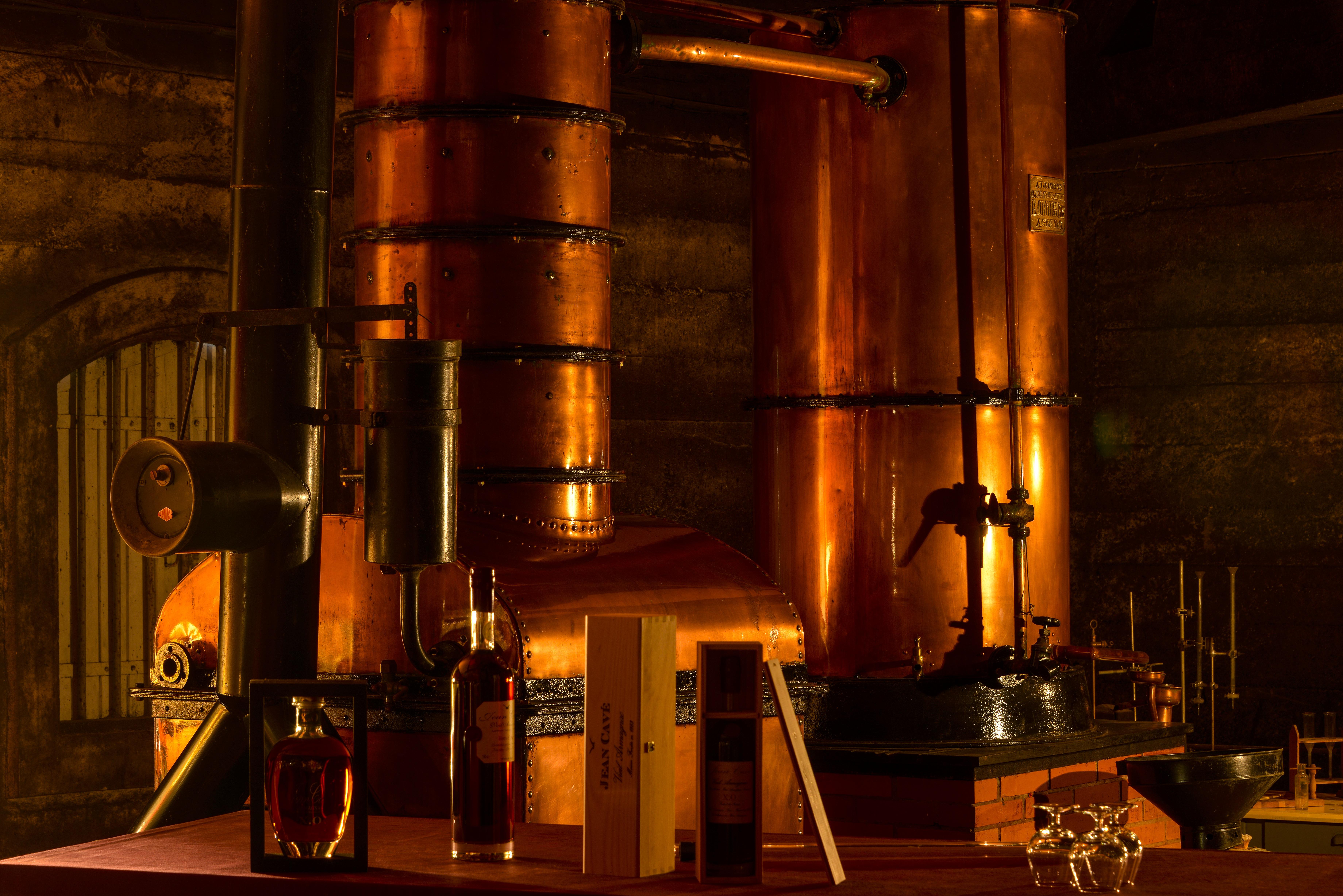 Distillation Armagnac et alambic armagnacais