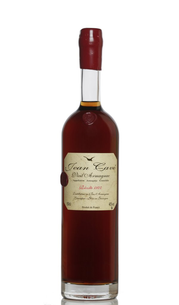 armagnac 1975 bouteille ariane cadeau 40 ans anniversaire armagnac jean cave