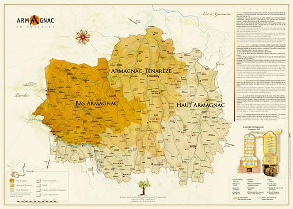 MAP ARMAGNAC
