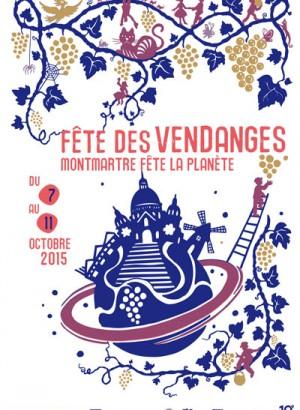 La fête des Vendanges de Montmartre 2015 - Paris