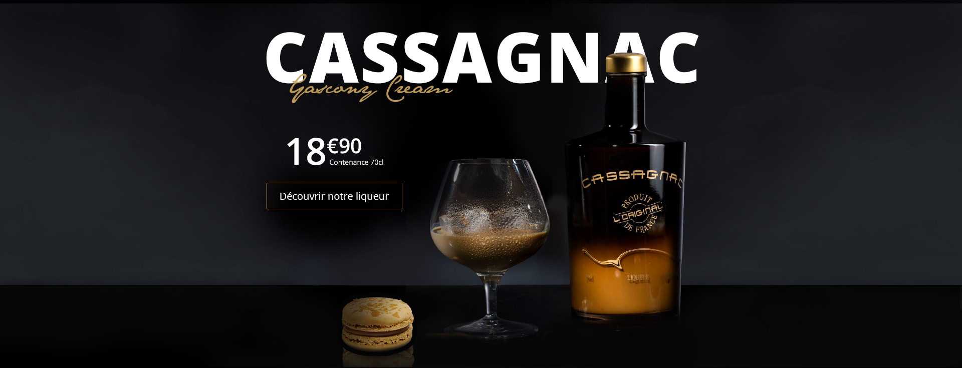 Cassagnac, Gascony Cream