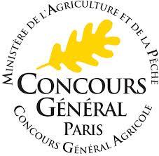 Médaille d'or Concours Général Agricole 2017