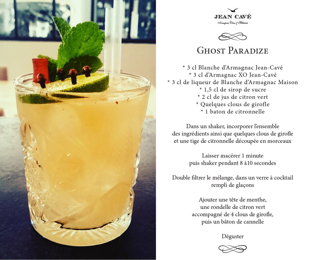 { COCKTAIL ARMAGNAC } Ghost Paradize