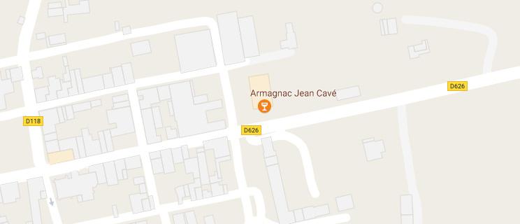 Localisé Armagnac Jean Cavé